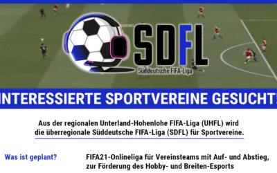 Aus der UHFL wird die SDFL